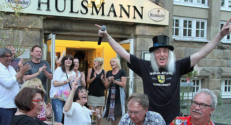 Eickeler Kulturkneipe Hülsmann feiert fünften Geburtstag